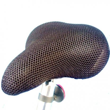 自行車專用-透氣隔熱坐墊套-上層厚0.45cm 下層厚0.55 透氣隔熱坐墊套-台灣製造