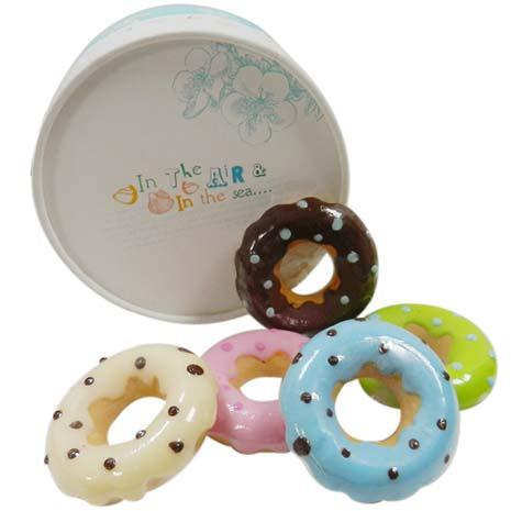 海洋甜甜圈香皂禮盒/手工皂/肥皂/禮盒/香皂-居家日用.傢俱寢具-myfone購物