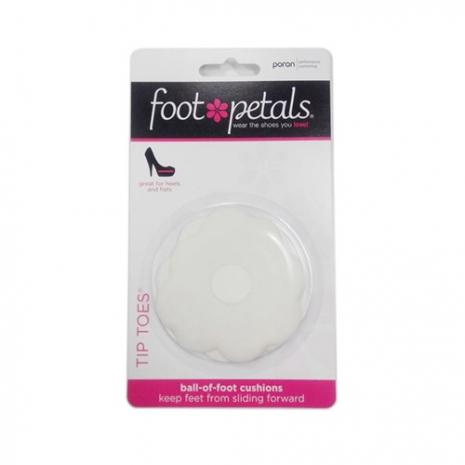 美國Foot Petals時尚舒適鞋墊-前腳墊(白色) FP72052-166 ※鞋墊屬個人衛生用品一經拆封恕不退換貨哦