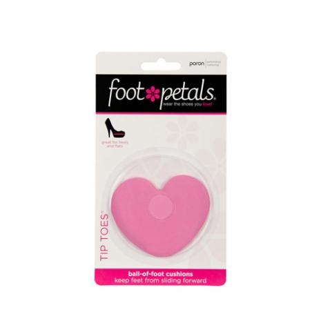 美國Foot Petals時尚舒適鞋墊-前腳墊(粉紅) FP72041-650※鞋墊屬個人衛生用品一經拆封恕不退換貨哦