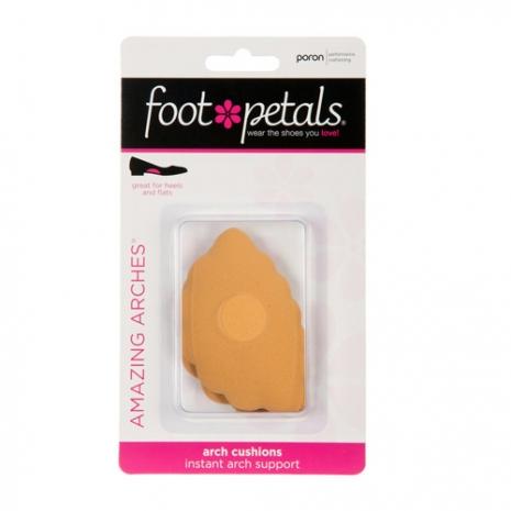 美國Foot Petals時尚舒適鞋墊-足弓墊(膚色) FP71001-711※鞋墊屬個人衛生用品一經拆封恕不退換貨哦