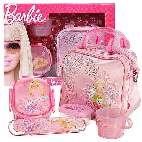 芭比Barbie 芭比餐具組禮盒 (粉紅)