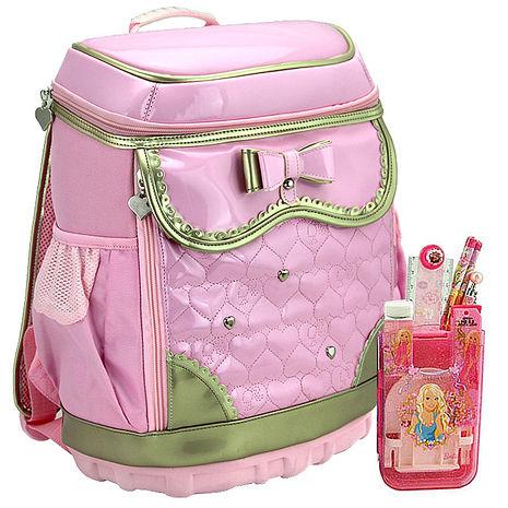 芭比Barbie 輕裝減負書包文具組 (粉紅色)