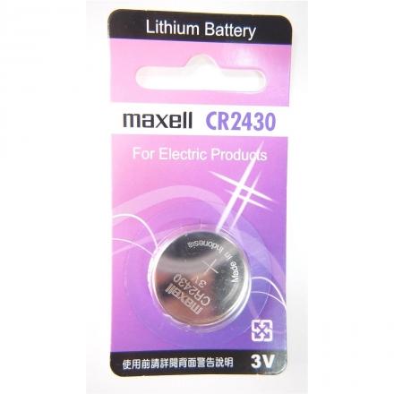 MAXELL CR2430 一顆 手錶電池 鈕扣電池 鋰電池-居家日用.傢俱寢具-myfone購物