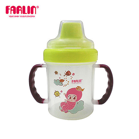 【Farlin】魔法鴨嘴學習水杯200ml - 紫色