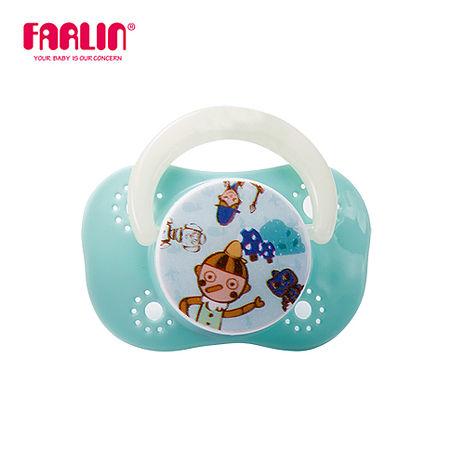 【Farlin】啾啾安撫奶嘴(櫻桃型/小) - 藍色