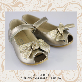 【瑞瑞比歐美童裝】澳洲MTK 大小童鞋/童鞋/皮鞋/包鞋 (舞蝶香金綁帶款)Eur36