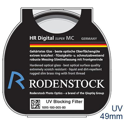 Rodenstock HR超級鍍膜UV保護鏡 49mm【公司貨】