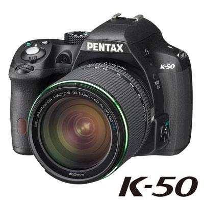 PENTAX K-50+DA18-135mmWR防滴水旅遊鏡組【公司貨】★送SD32G