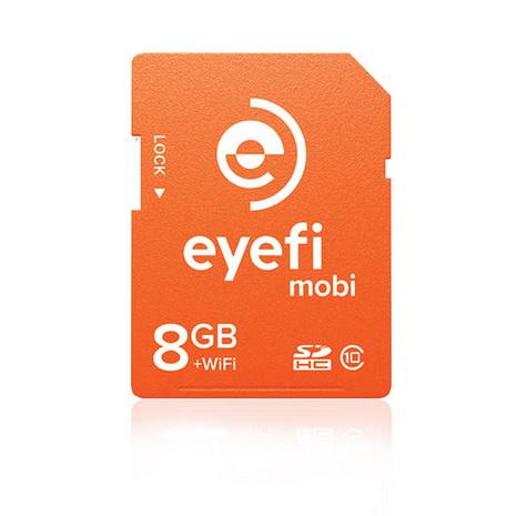 eyefi mobi 8GB class10 無線傳輸記憶卡【公司貨】