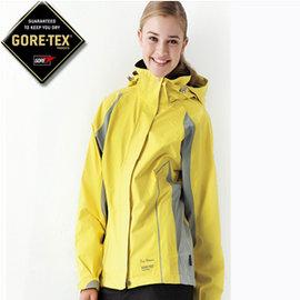 【FOX FRIEND】GORE-TEX 防水透氣 女款 單件式外套黃 - 2L