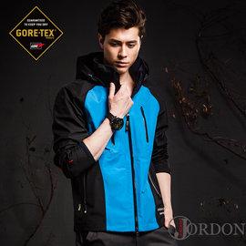 JORDON 都會遊俠 GORE-TEX 防水透氣 + POLARTEC 刷毛 3L(三層布)兩件式外套亮橘 - S