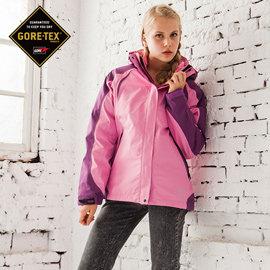 JORDON 雙色進化 GORE-TEX 防水透氣 + 羽絨 女款 兩件式外套