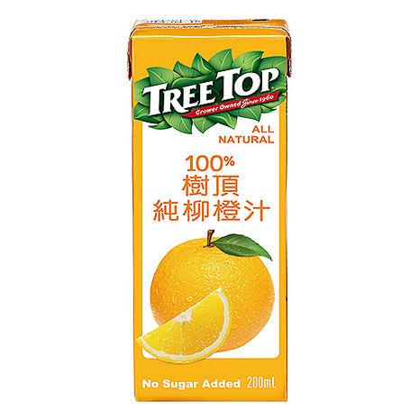 《TreeTop》樹頂柳橙汁200mlx24瓶