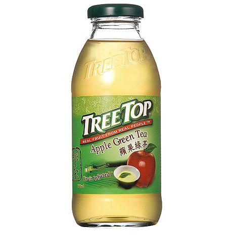 《TreeTop》樹頂蘋果綠茶(360mlX24入)