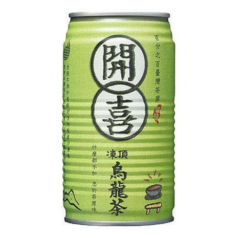 《開喜》凍頂烏龍茶-無糖(340mlx24罐)X2箱