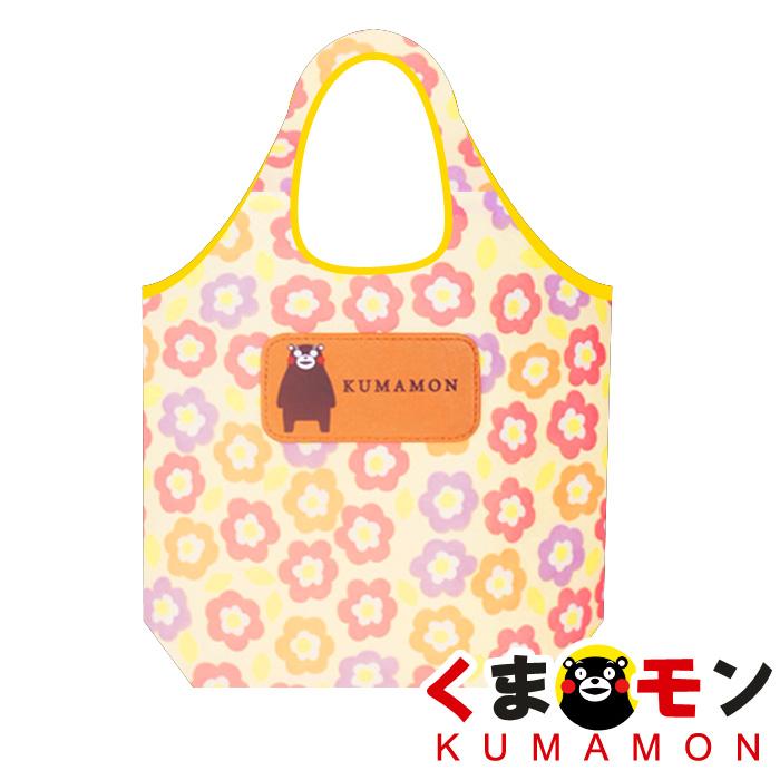 【酷ma萌 熊本熊 kumamon】小花/碎花隨身收納 加厚環保購物袋