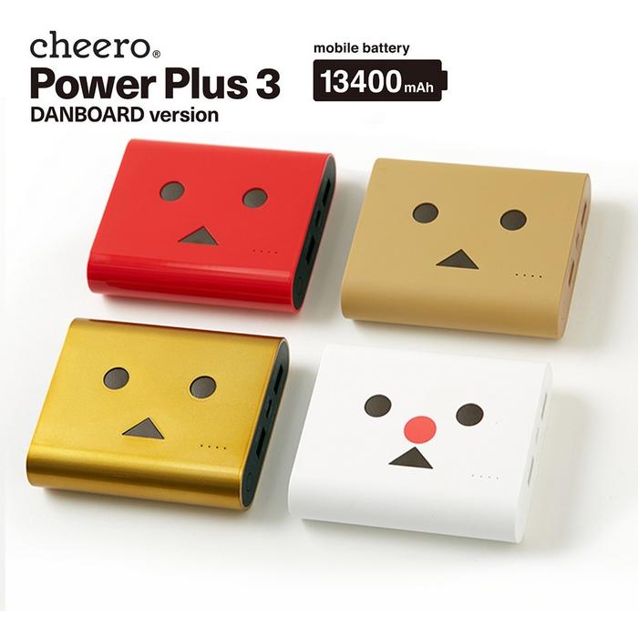 日本cheero 3代阿愣13400mAh行動電源.2A快速充電.夏瓏公司貨