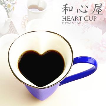 日本和心屋彩色骨瓷馬克杯