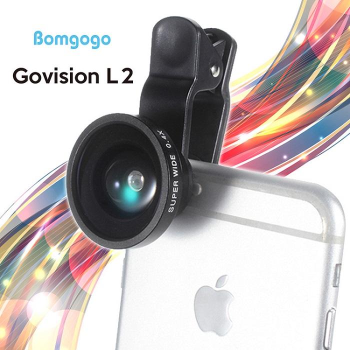 Bomgogo 0.4X超廣角三合一手機萬用鏡頭夾