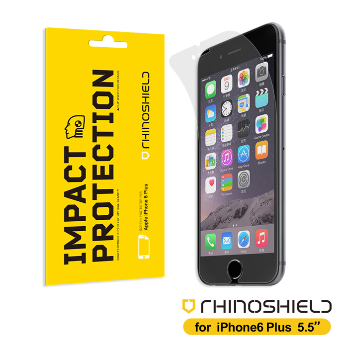 RHINO SHIELD 犀牛盾 iPhone6S Plus/ iPhone6 Plus 5.5吋專用 超強抗衝擊能力吸收螢幕(正面)保護膜