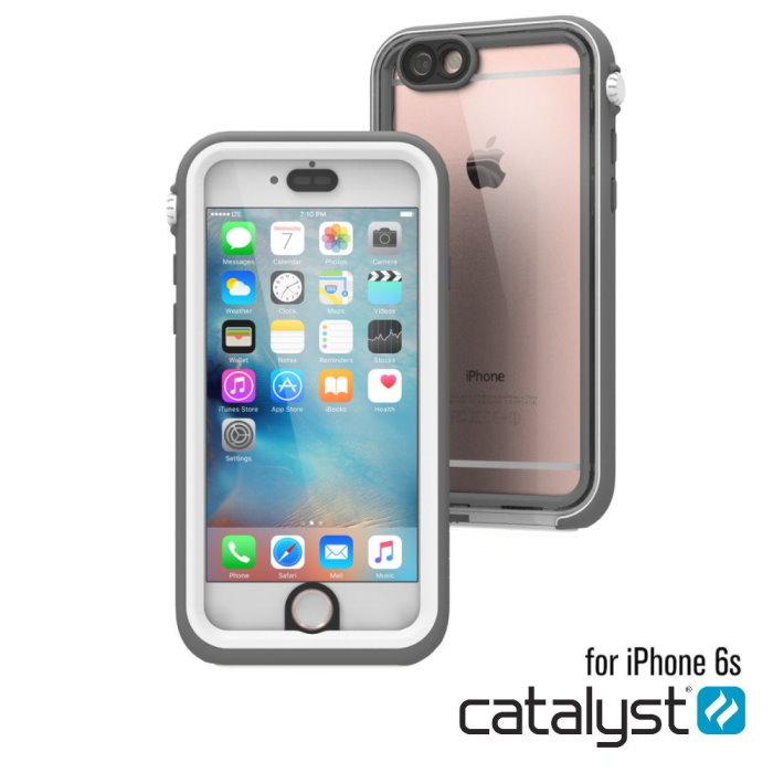 catalyst Apple iPhone6/6S 4.7吋專用 IP68 防水軍規防震防泥超強保護殼 簡約灰白