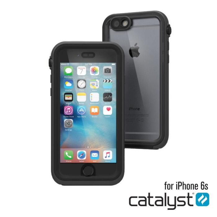 catalyst Apple iPhone6/6S 4.7吋專用 IP68 防水軍規防震防泥超強保護殼 沉穩黑灰