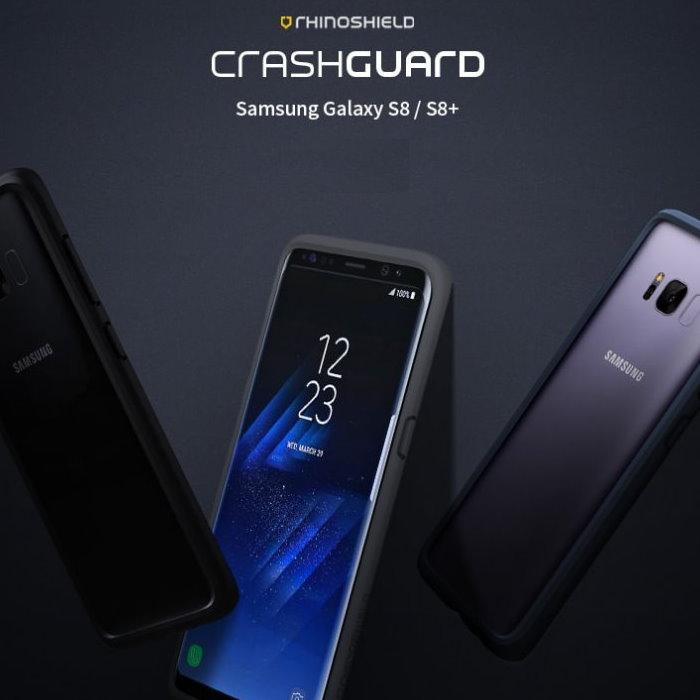 RHINO SHIELD犀牛盾 Samsung Galaxy S8 / S8 Plus 專用 科技緩衝材質耐衝擊邊框殼S8Plus - 深藍