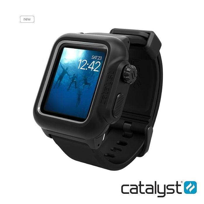 catalyst Apple Watch 38mm 第二代 專用 IP68防水軍規防震超輕量保護殼 (內附矽膠錶帶)純潔白