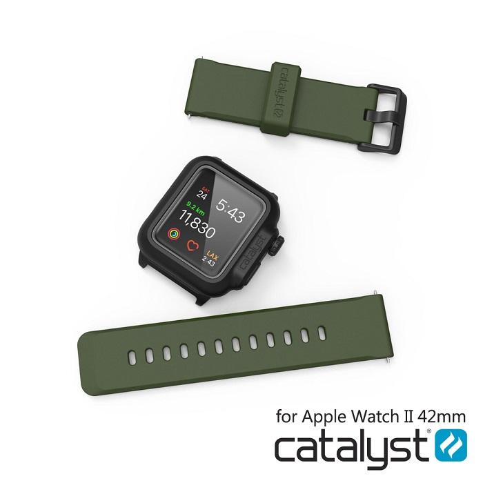 catalyst Apple Watch 42mm 專用 替換錶帶紅色