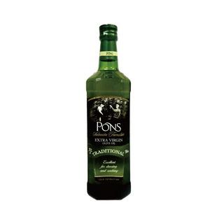 【PONS】西班牙原裝進口特級處女果香橄欖油750MLX1