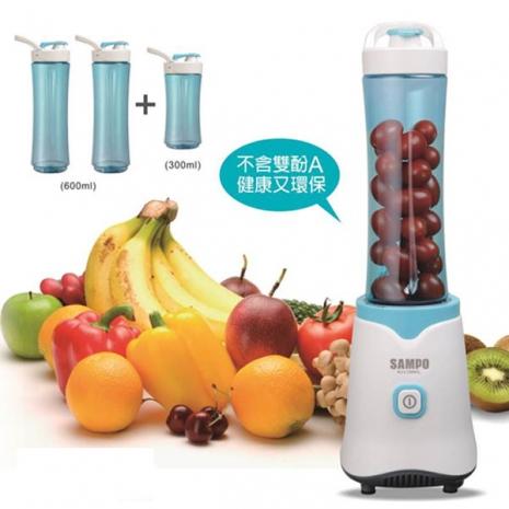聲寶隨行杯果汁機(三杯組)KJ-L13061L