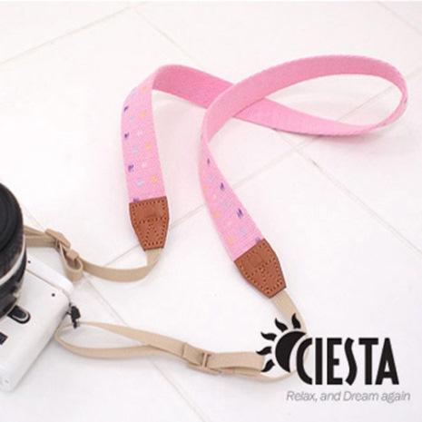 CIESTA Pink相機背帶(水蜜桃/F25009)