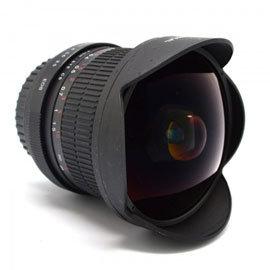 ROWA.JAPAN 單眼相機專用鏡頭 8mm 167°魚眼鏡頭 For Canon