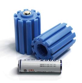 電池轉換器 (一組二入) 3號(AA)轉1號賣場