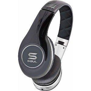 SOUL by Ludacris 高清專業型SL150 手機麥克風 耳罩式耳機-黑