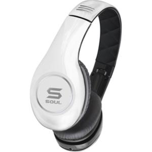SOUL by Ludacris 高清專業型SL150 手機麥克風 耳罩式耳機-白