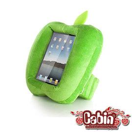 【預購】Cabin 青蘋果造型 iPAD閱讀抱枕