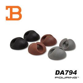 【預購】韓國FOURING 黏貼式 固定收線理線器(6入組) DA794