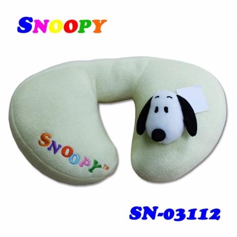 【預購】Snoopy 史奴比 車用兒童護頸枕 SN-03112