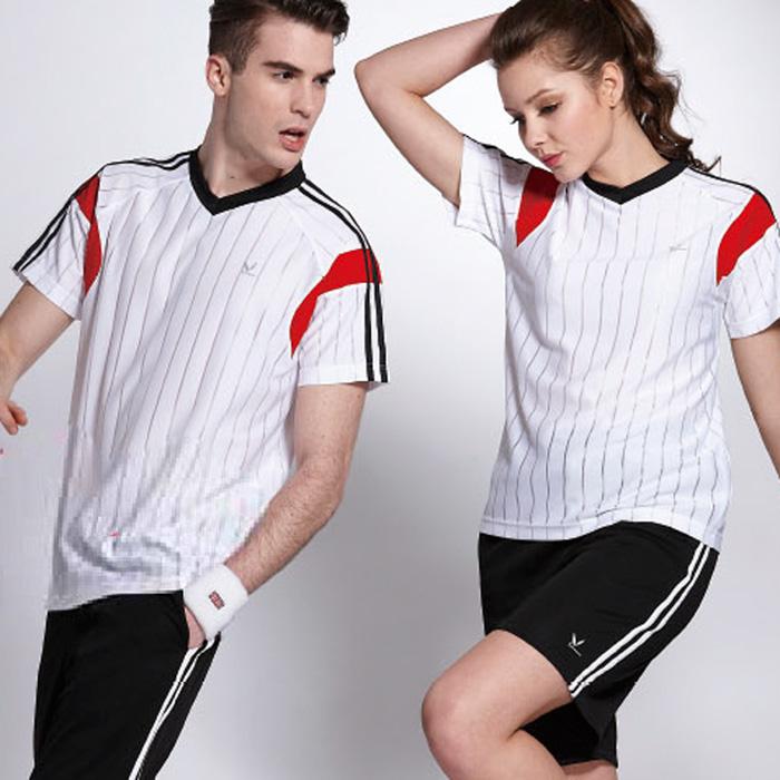 【LEIDOOE】中性版短袖運動套裝(18133+17011)白色3L
