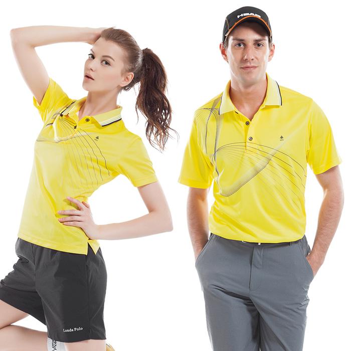 【SPAR】吸濕排汗女版短袖POLO衫(SP74785)亮黃色