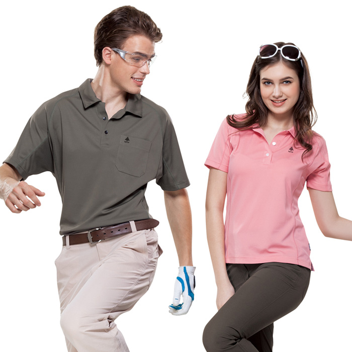 【SPAR】吸濕排汗女版短袖POLO衫(SP73961)粉紅色-戶外.婦幼.食品保健-myfone購物