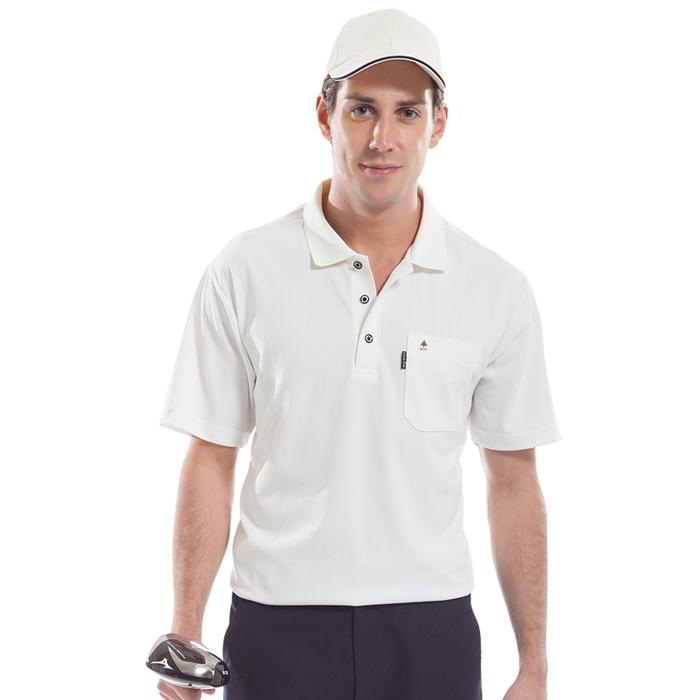 【SPAR】吸濕排汗男版短袖POLO衫(SP53121)米白色