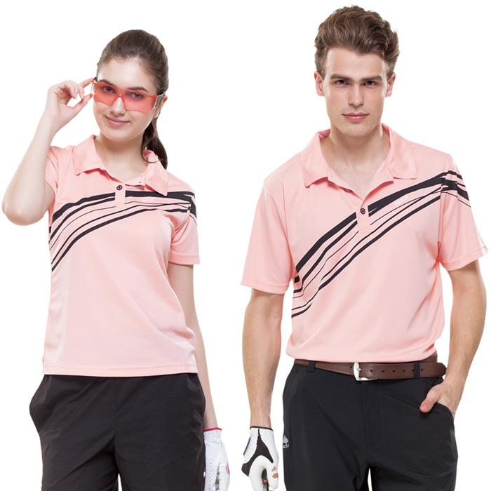 【SPAR】吸濕排汗女版短袖POLO衫(SP74782)蜜粉色