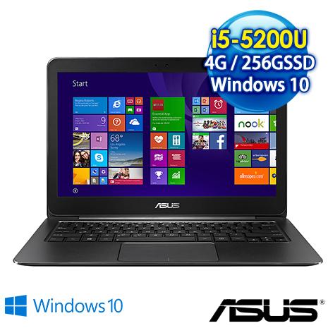 ★瘋狂下殺★ASUS UX305LA-0081A5200U 13.3吋第五代高解析SSD超薄效能筆電(i5-5200U/4G/256G SSD/WIN10)