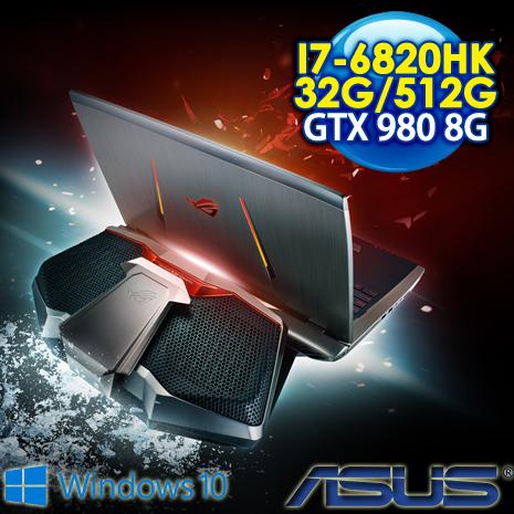 ★筆電瘋狂購★ASUS ROG GX700VO-0031A6820HK 17.3FHD 水冷電競筆電