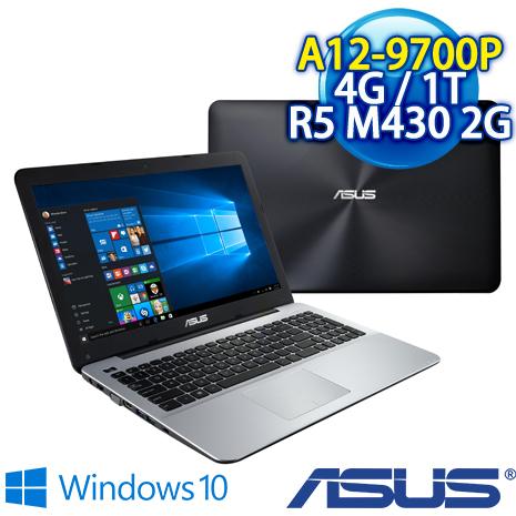 ★瘋狂下殺★ ASUS X555QG-0021B9700P (AMD Quad Core A12-9700P/4G DDR4/1T/AMD Radeon R5 M430 2G/W10)