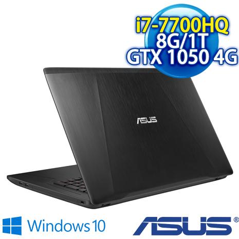 【瘋狂下殺】ASUS FX753VD-0032B7700HQ 17.3吋 電競筆電 (i7-7700HQ/8G DDR4 /1TB/GTX 1050 4G GDDR5 VRAM)