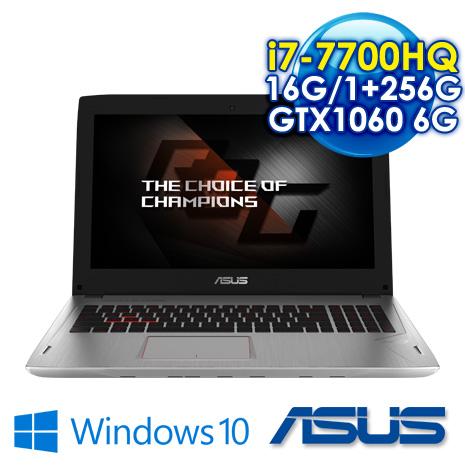 ★瘋狂下殺★ ASUS ROG GL502VM-0111E7700HQ 潮速電競筆電 i7-7700HQ/8G*2 DDR4 /1TB+256G SSD/GTX1060 6G GDDR5 VRAM /..